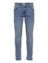 Sdjoy Blue 200 Jeans Slim Jeans Blå Solid