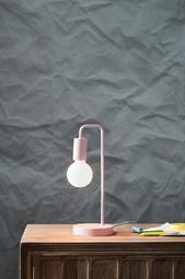Cascais Bordlampe Rosa
