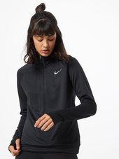 Nike Sportsweatshirt 'pacer'  Sort / Hvid