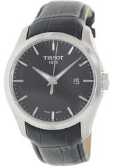 Tissot Herreur T035.410.16.051.00 Sort/læder Ø41 Mm