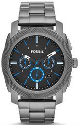 Fossil Machine Herreur Fs4931 Sort/stål Ø45 Mm