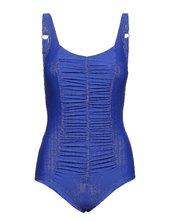 Swimsuit Valentina Badedragt Badetøj Blå Wiki