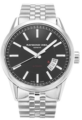 Raymond Weil Freelancer Herreur 2730-st-20001 Sort/stål Ø42 Mm