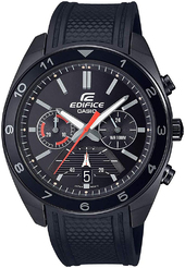Casio Edifice Herreur Efv-590pb-1avuef Sort/gummi Ø44 Mm