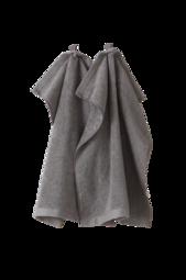 Earth Håndklæde 2-pak Grå