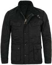 Barbour International Ariel Polarquilt International Black