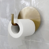 Toiletrulleholder Text - House Doctor