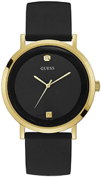 Guess 99999 Herreur W1264g1 Sort/gummi Ø44 Mm