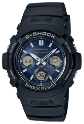 Casio G-shock Herreur Awg-m100sb-2aer G-shock Blå/resinplast Ø46 Mm