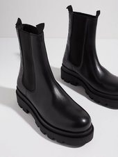 Duffy High Leather Chelsea Boots Chelsea Boots