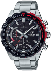 Casio Edifice Herreur Efr-566db-1avuef Sort/stål Ø49 Mm