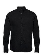 Johan Denim Shirt Skjorte Casual Sort Kronstadt