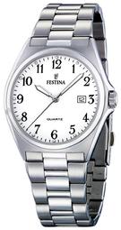 Festina Herreur F16374-1 Hvid/stål Ø40 Mm