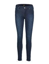 Scarlett Skinny Jeans Blå Lee Jeans