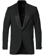 Tiger Of Sweden Janson Tuxedo Shawl Collar Blazer Black