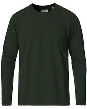 Colorful Standard Classic Organic Long Sleeve T-shirt Hunter Green