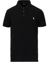 Polo Ralph Lauren Slim Fit Stretch Polo Black