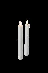 Helvar Kronelys Led 2-pak Hvid