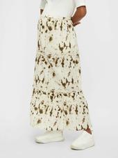 Mamalicious Nederdel  Hvid / Blandingsfarvet