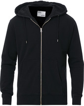 Colorful Standard Classic Organic Full Zip Hood Deep Black