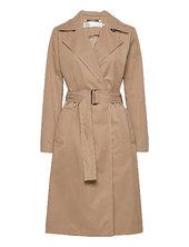 Yumaiw Coat Trenchcoat Frakke Beige Inwear