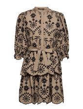 Rosie Sinea Dress Kort Kjole Beige Bruuns Bazaar