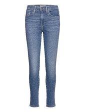 721 High Rise Skinny Good Afte Skinny Jeans Blå Levi´s Women