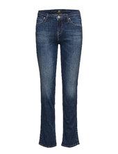 Marion Straight Lige Jeans Blå Lee Jeans