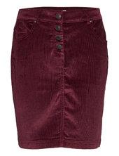 Skirts Woven Kort Nederdel Rød Esprit Casual