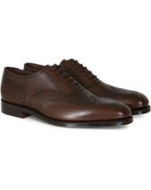Loake 1880 Buckingham Brogue Dark Brown Calf