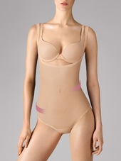 Wolford Shapingbody 'tulle Forming'  Nude