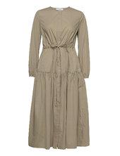 Corded Shirt Dress Midi Lenght Dresses Shirt Dresses Grøn Ivy & Oak