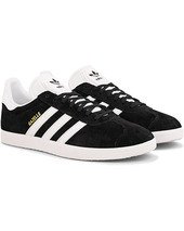 Adidas Originals Gazelle Nubuck Sneaker Black