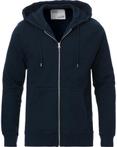 Colorful Standard Classic Organic Full Zip Hood Navy