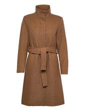 Ciljaiw Crew Coat Trenchcoat Frakke Beige Inwear