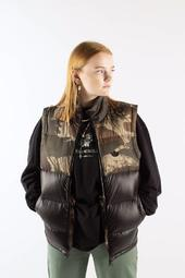 Down Camo Vest Ge1320 - Campri/black - Adidas Originals - Camo/sort S