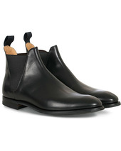 Crockett & Jones Chelsea 8 City Sole Black Calf
