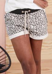 Lascana Pyjamasbukser  Sort / Hvid