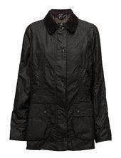 Barbour Classic Beadnell Wax Jacket Quiltet Jakke Sort Barbour