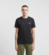 Fred Perry Core Tonal Ringer T-shirt, Sort