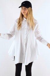 Fayinair Shirt - White - Irréel - Hvid One Size