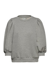 Nankitagz Sweatshirt Langærmet T-shirt Grå Gestuz