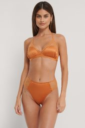Na-kd Lingerie Højtaljede Meshtrusser - Orange