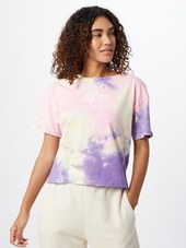 Alpha Industries Shirts  Pastellilla / Pastelpink / Hvid