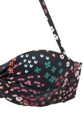 S.oliver Bikinioverdel 'milly'  Sort / Blandingsfarvet