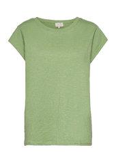 Leti Tee T-shirt Top Grøn Minus