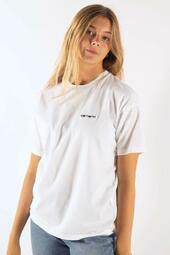 W' S/s Script Embroidery - White - Carhartt - Hvid S