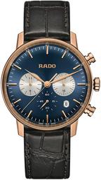 Rado Coupole Herreur R22911205 Blå/læder Ø42 Mm