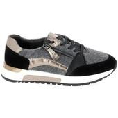 Sneakers Jana  Sneaker 23710 Noir