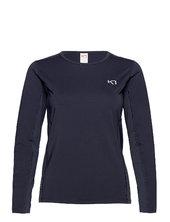 Nora Ls Langærmet T-shirt Blå Kari Traa